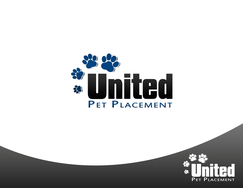 Logo Design by Juan_Kata - Entry No. 100 in the Logo Design Contest Artistic Logo Design for united pet placement.