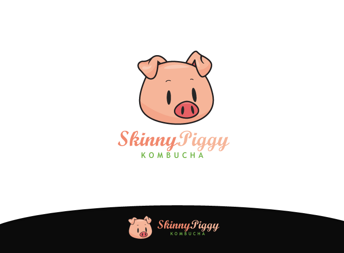 Logo Design by Jan Chua - Entry No. 31 in the Logo Design Contest Fun Logo Design for Skinny Piggy.