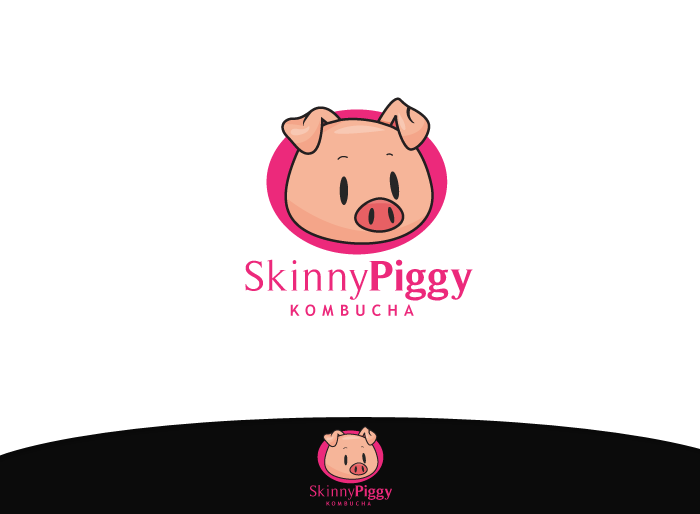 Logo Design by Jan Chua - Entry No. 33 in the Logo Design Contest Fun Logo Design for Skinny Piggy.