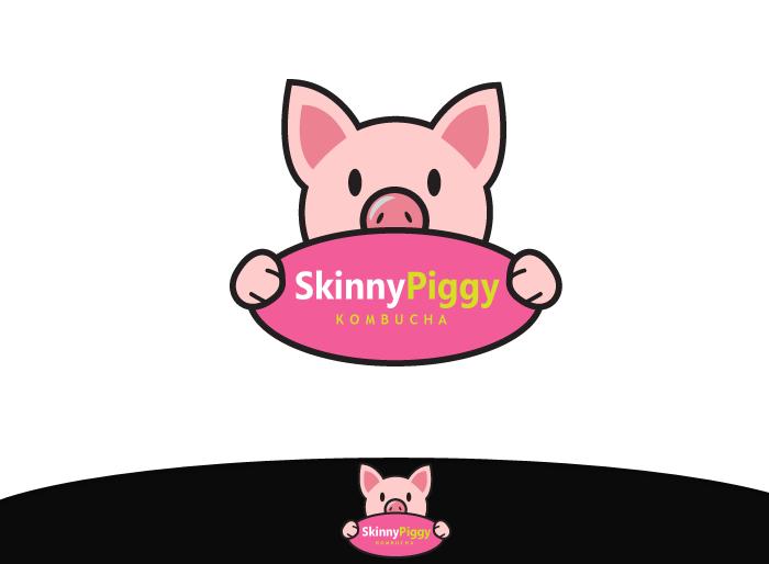 Logo Design by Jan Chua - Entry No. 35 in the Logo Design Contest Fun Logo Design for Skinny Piggy.