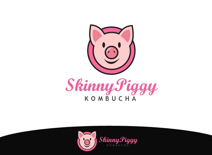 Logo Design by Jan Chua - Entry No. 36 in the Logo Design Contest Fun Logo Design for Skinny Piggy.