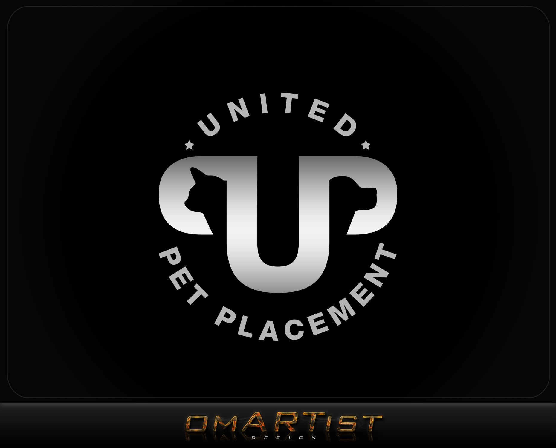 Logo Design by omARTist - Entry No. 104 in the Logo Design Contest Artistic Logo Design for united pet placement.
