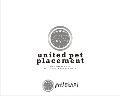 Logo Design by Armada Jamaluddin - Entry No. 105 in the Logo Design Contest Artistic Logo Design for united pet placement.