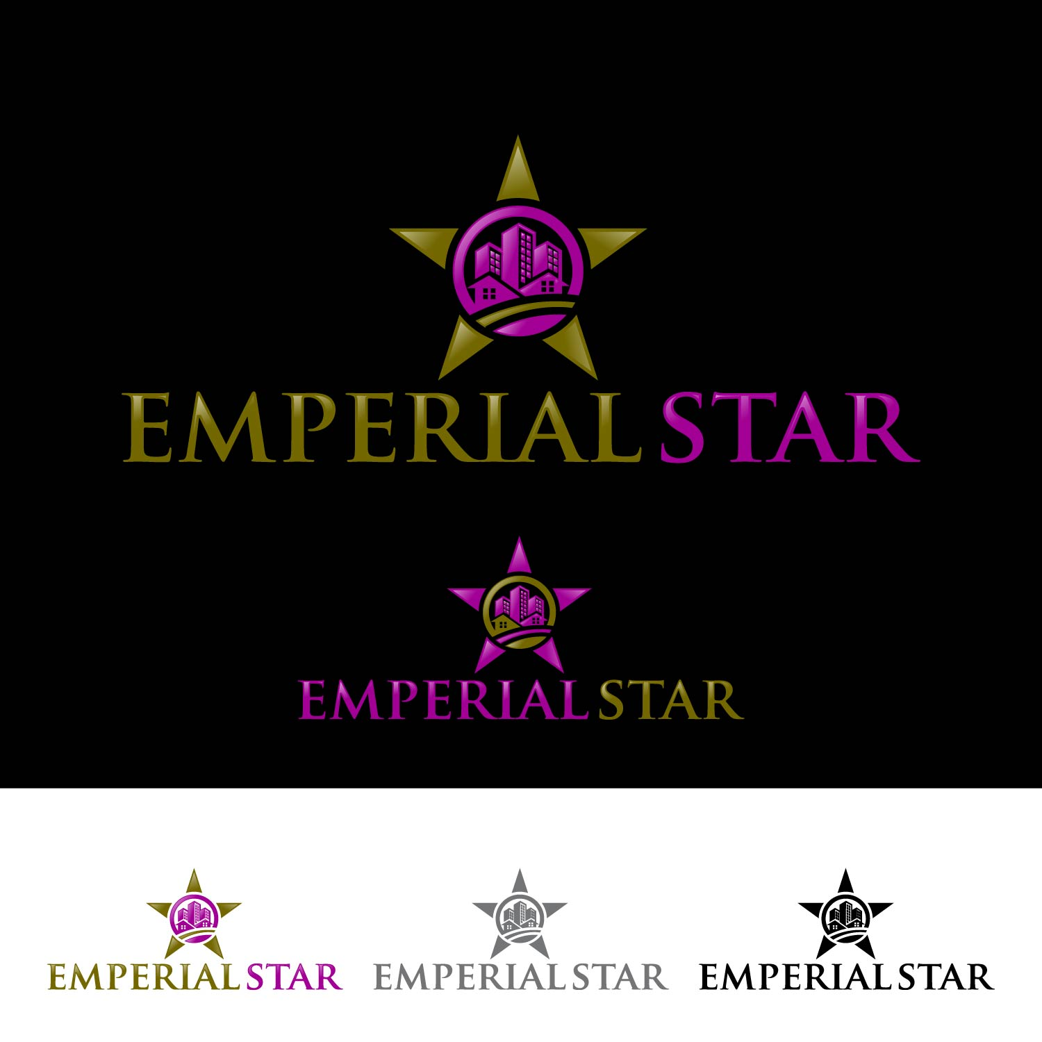 Logo Design by lagalag - Entry No. 62 in the Logo Design Contest Emperial Star Logo Design.