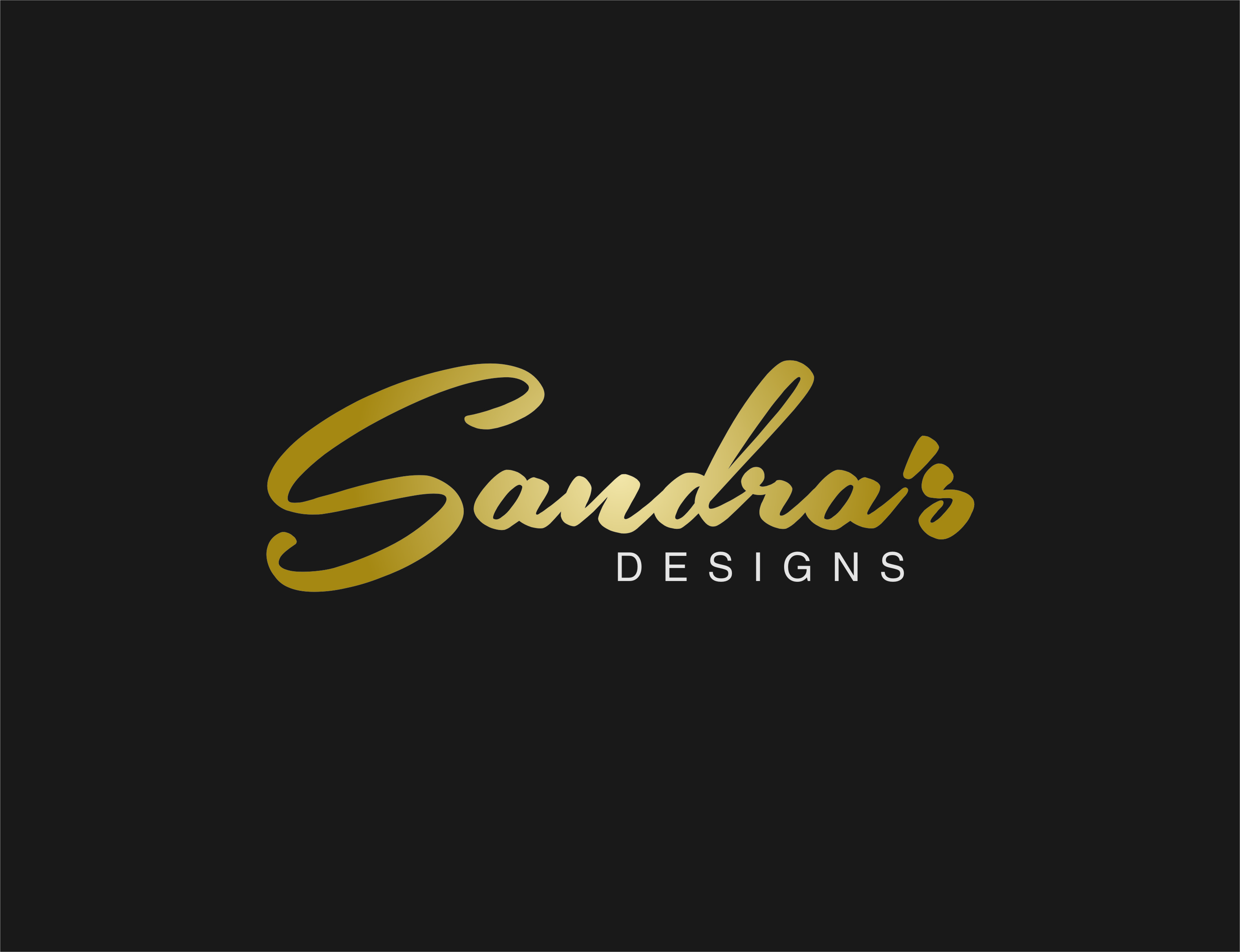 Logo Design by Ngepet_art - Entry No. 98 in the Logo Design Contest Imaginative Logo Design for Sandra's.