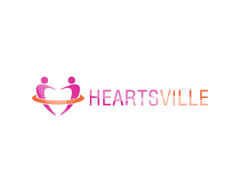 Logo Design by Private User - Entry No. 64 in the Logo Design Contest Unique Logo Design Wanted for Heartsville.