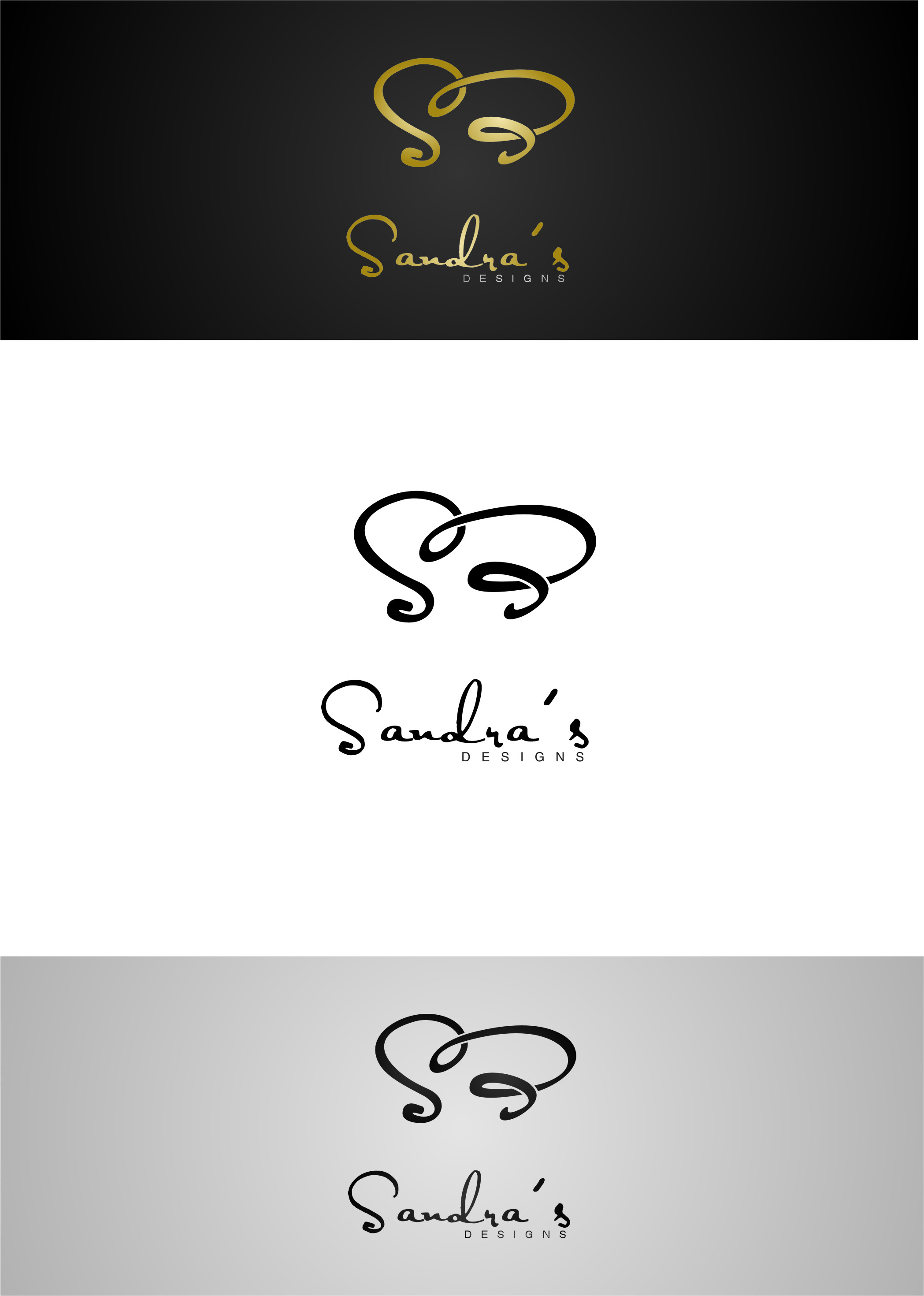 Logo Design by RasYa Muhammad Athaya - Entry No. 103 in the Logo Design Contest Imaginative Logo Design for Sandra's.