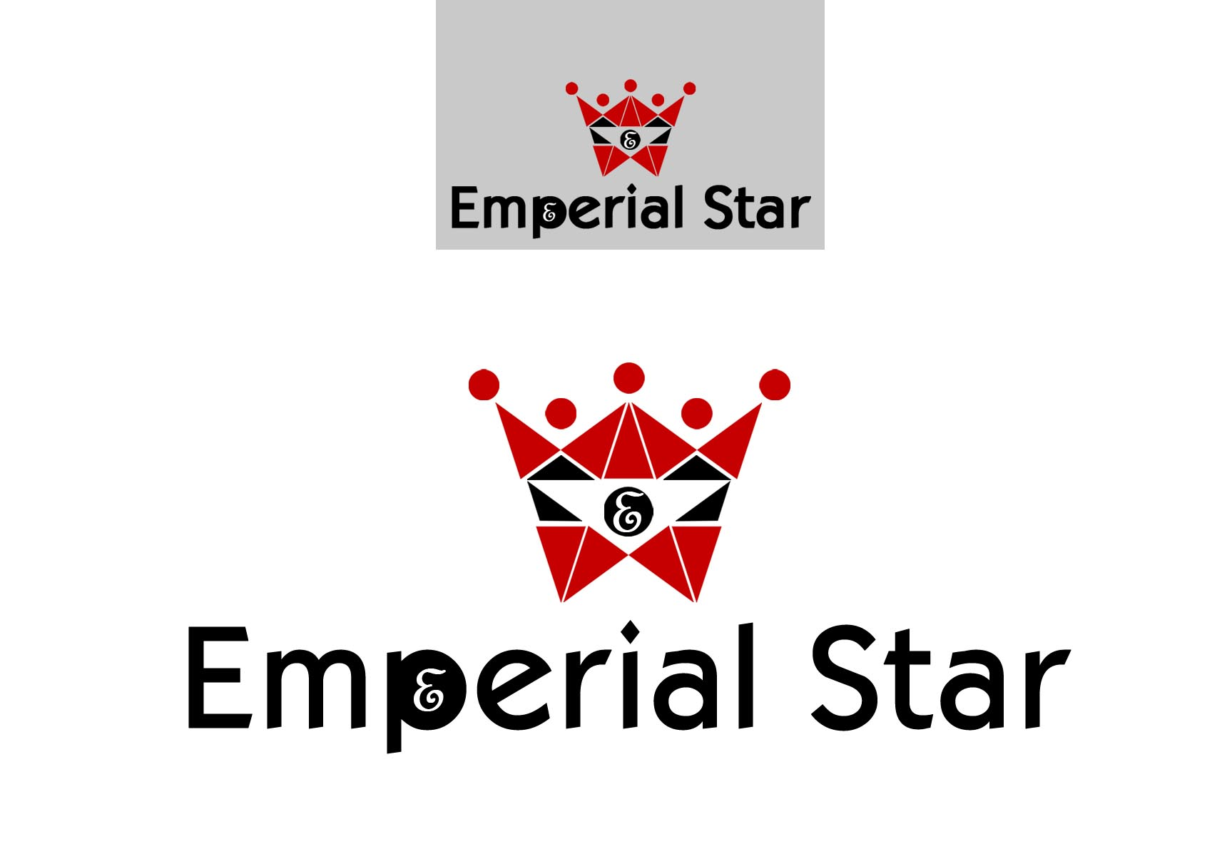 Logo Design by Cesar III Sotto - Entry No. 72 in the Logo Design Contest Emperial Star Logo Design.