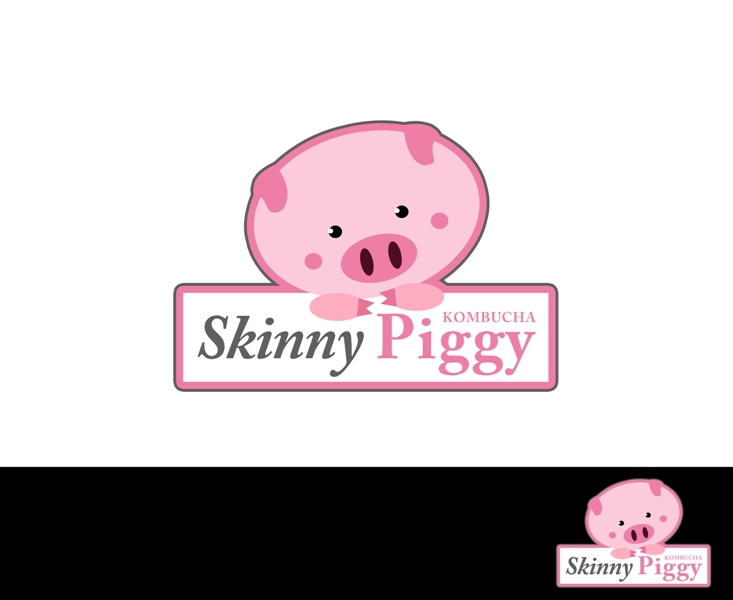Logo Design by Juan_Kata - Entry No. 42 in the Logo Design Contest Fun Logo Design for Skinny Piggy.