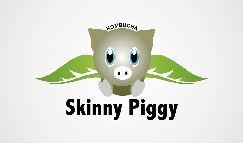 Logo Design by Crispin Jr Vasquez - Entry No. 48 in the Logo Design Contest Fun Logo Design for Skinny Piggy.