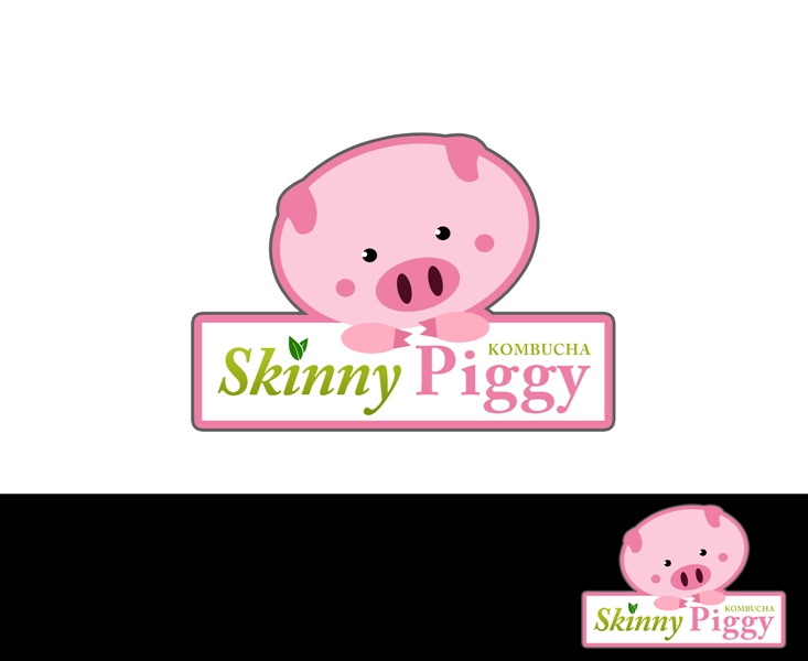 Logo Design by Juan_Kata - Entry No. 50 in the Logo Design Contest Fun Logo Design for Skinny Piggy.