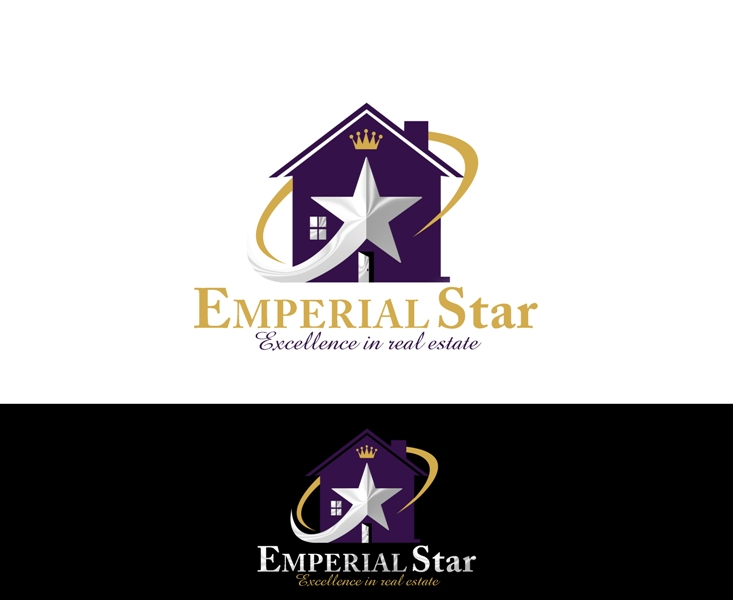 Logo Design by Juan_Kata - Entry No. 78 in the Logo Design Contest Emperial Star Logo Design.