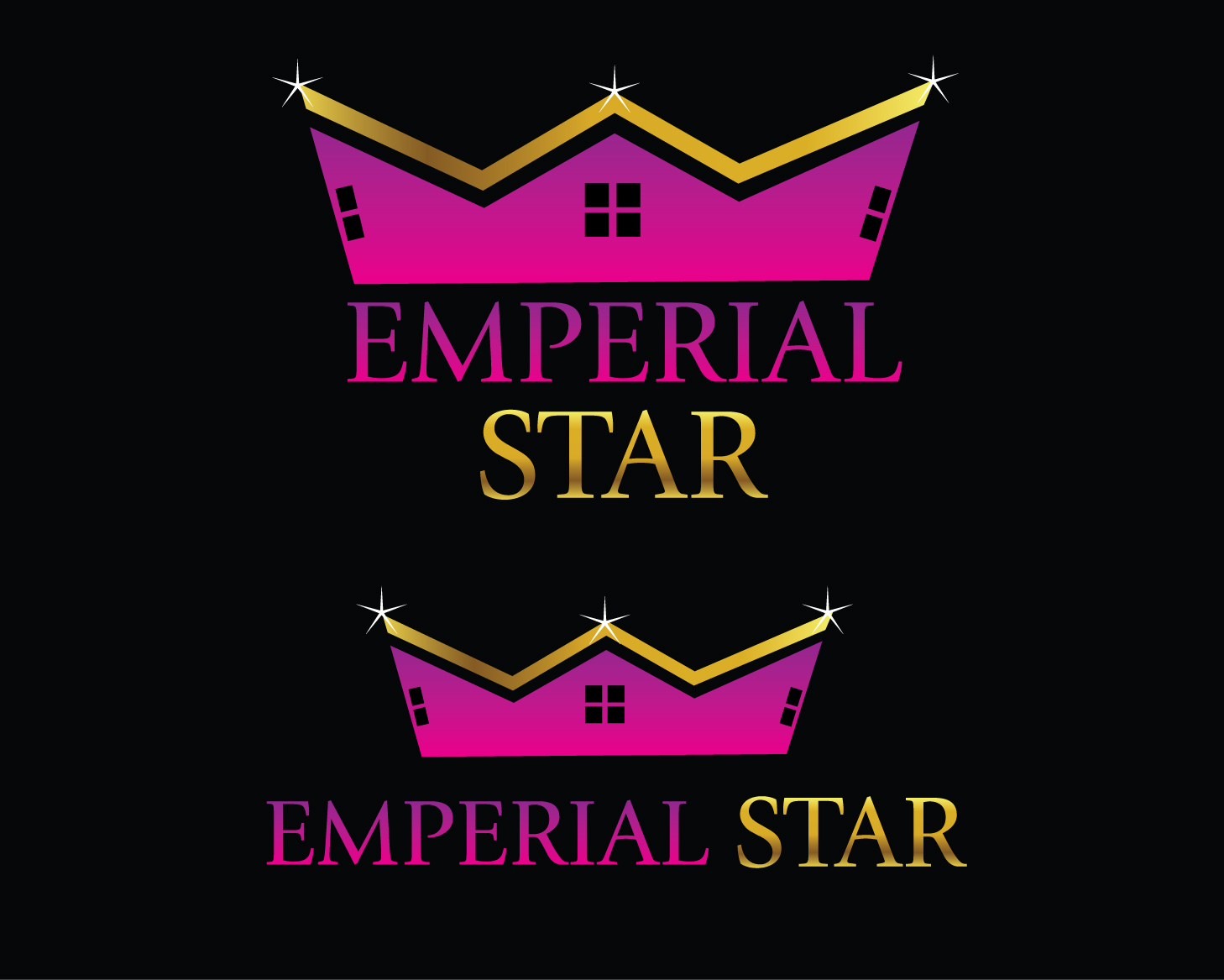 Logo Design by rA - Entry No. 79 in the Logo Design Contest Emperial Star Logo Design.