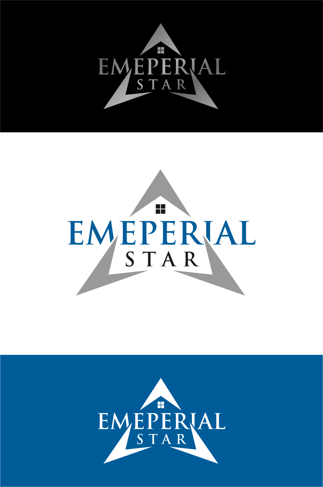 Logo Design by Ngepet_art - Entry No. 80 in the Logo Design Contest Emperial Star Logo Design.