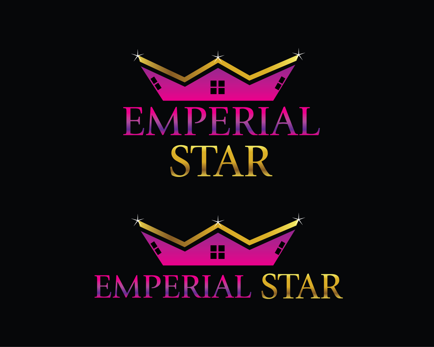 Logo Design by rA - Entry No. 81 in the Logo Design Contest Emperial Star Logo Design.