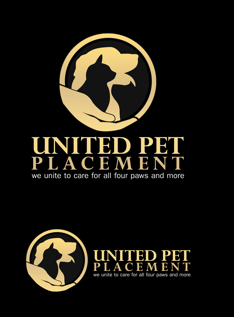 Logo Design by Private User - Entry No. 116 in the Logo Design Contest Artistic Logo Design for united pet placement.