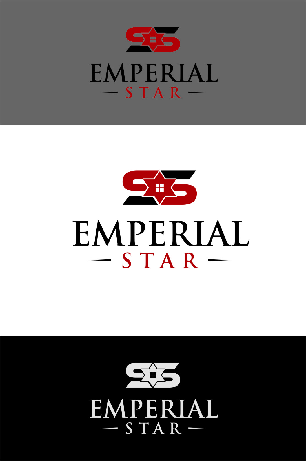 Logo Design by RasYa Muhammad Athaya - Entry No. 83 in the Logo Design Contest Emperial Star Logo Design.