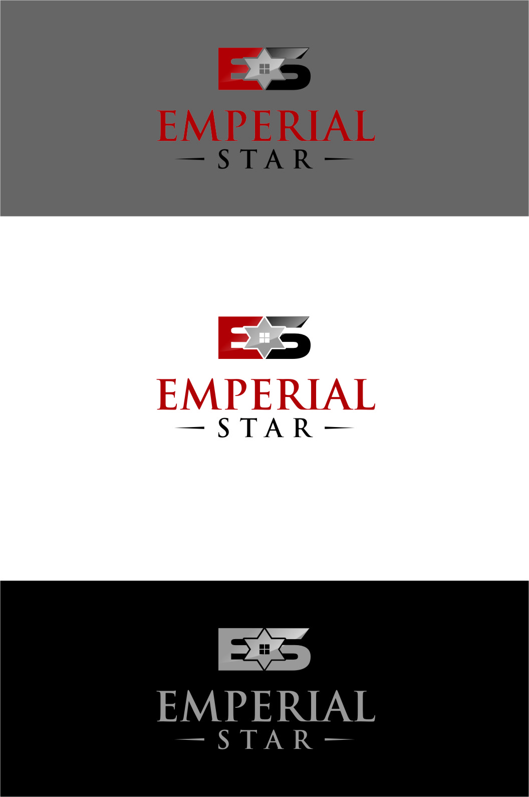Logo Design by Ngepet_art - Entry No. 84 in the Logo Design Contest Emperial Star Logo Design.