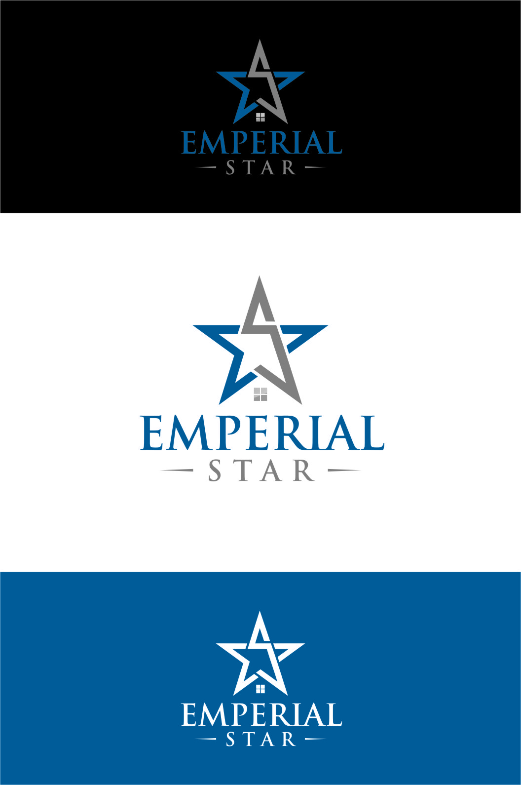 Logo Design by Ngepet_art - Entry No. 88 in the Logo Design Contest Emperial Star Logo Design.