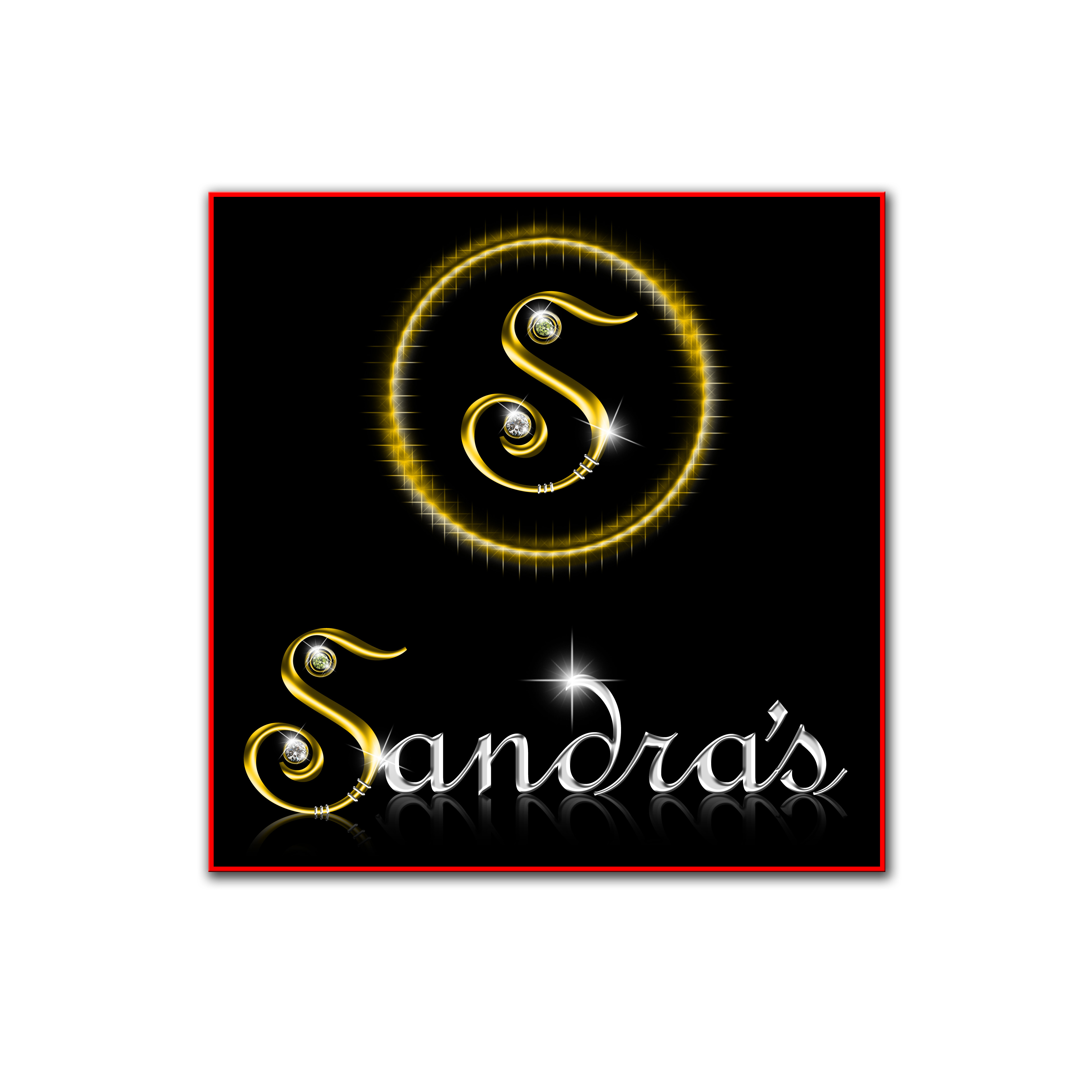 Logo Design by Cesar III Sotto - Entry No. 119 in the Logo Design Contest Imaginative Logo Design for Sandra's.