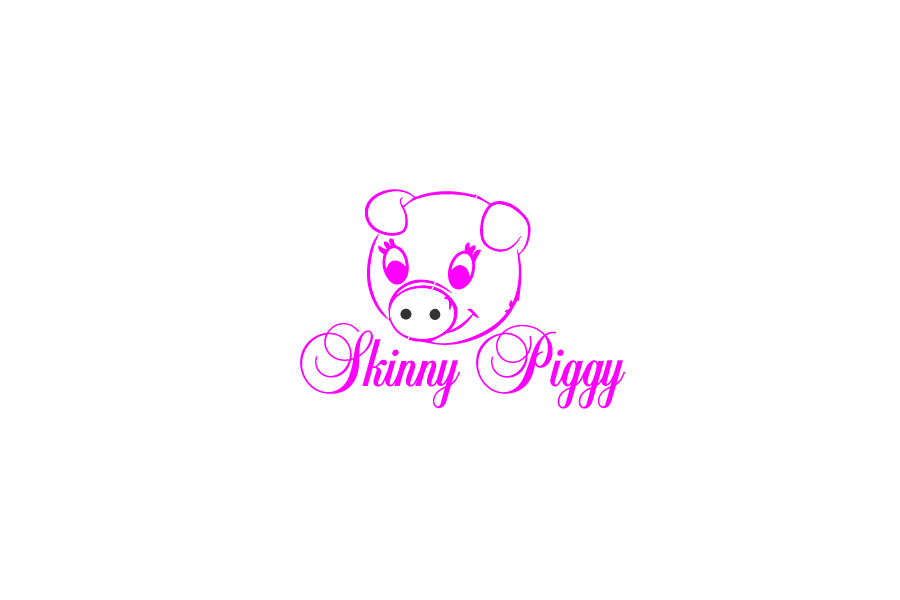 Logo Design by brands_in - Entry No. 66 in the Logo Design Contest Fun Logo Design for Skinny Piggy.