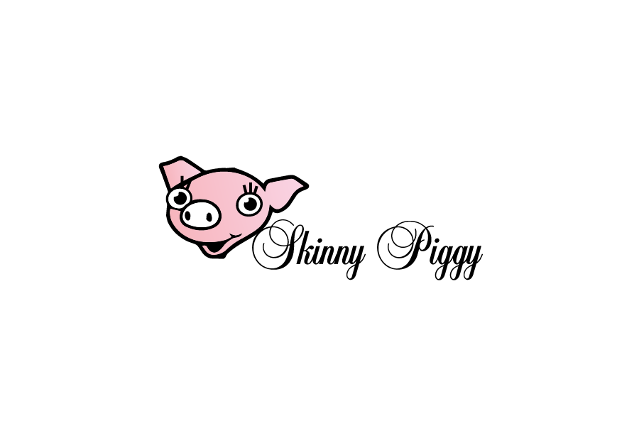 Logo Design by brands_in - Entry No. 69 in the Logo Design Contest Fun Logo Design for Skinny Piggy.