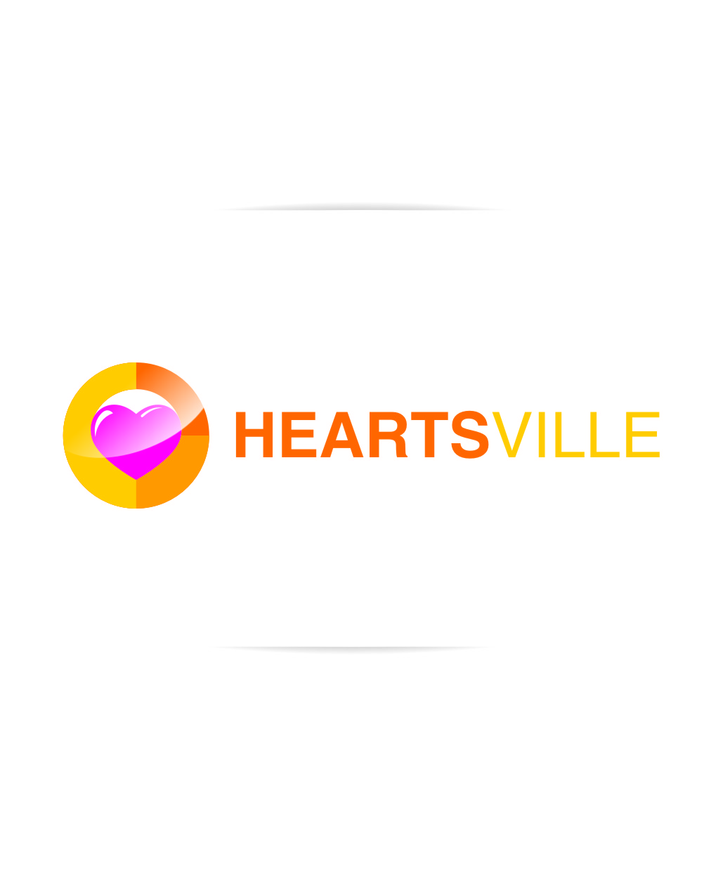 Logo Design by RasYa Muhammad Athaya - Entry No. 74 in the Logo Design Contest Unique Logo Design Wanted for Heartsville.