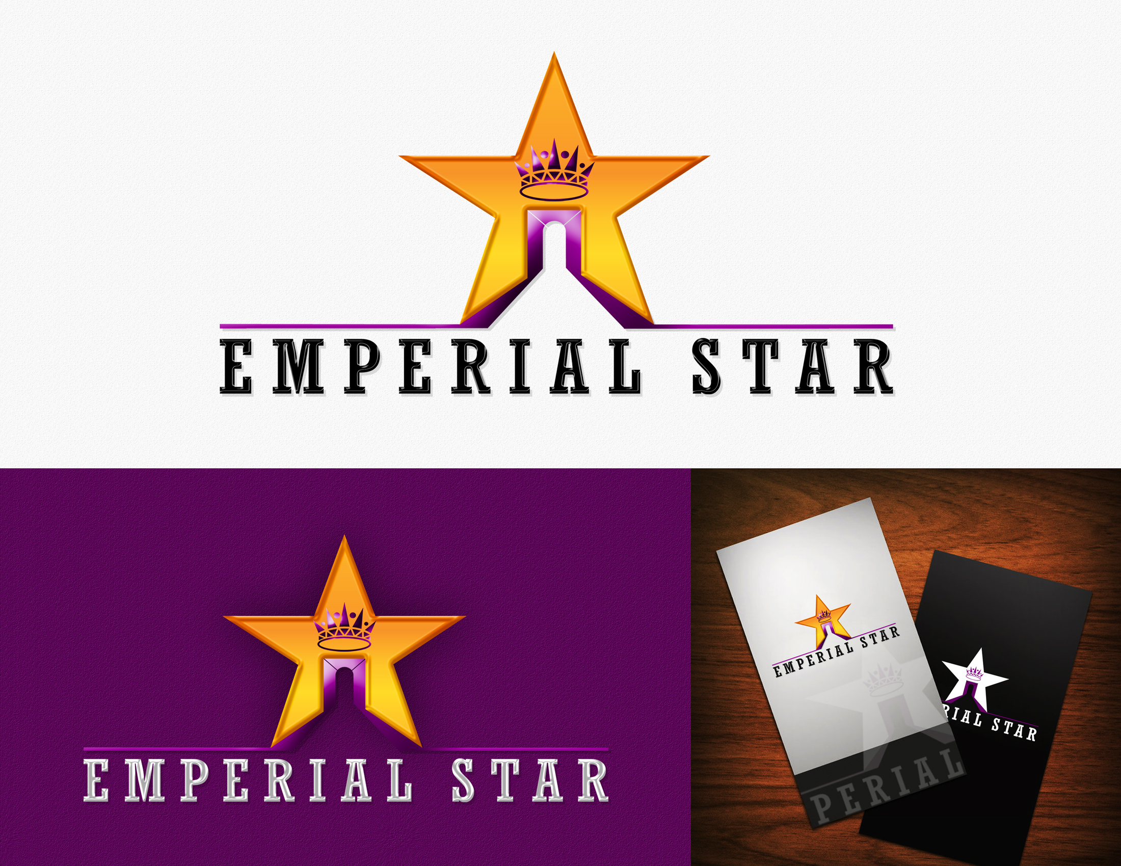 Logo Design by Private User - Entry No. 119 in the Logo Design Contest Emperial Star Logo Design.