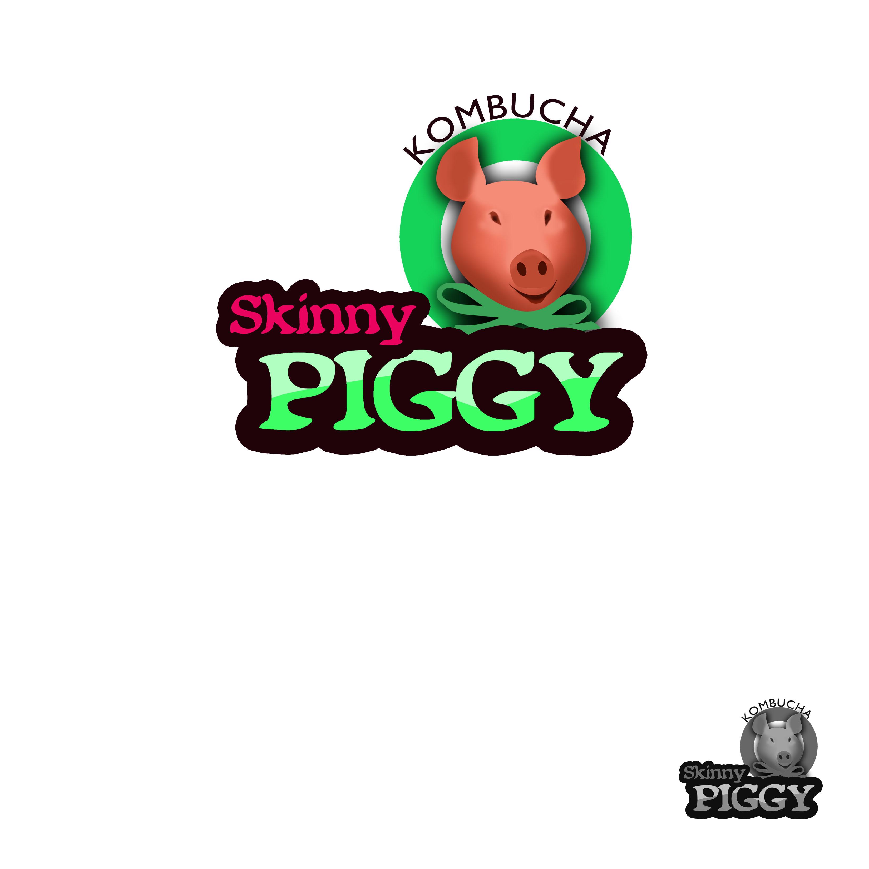Logo Design by Alan Esclamado - Entry No. 73 in the Logo Design Contest Fun Logo Design for Skinny Piggy.