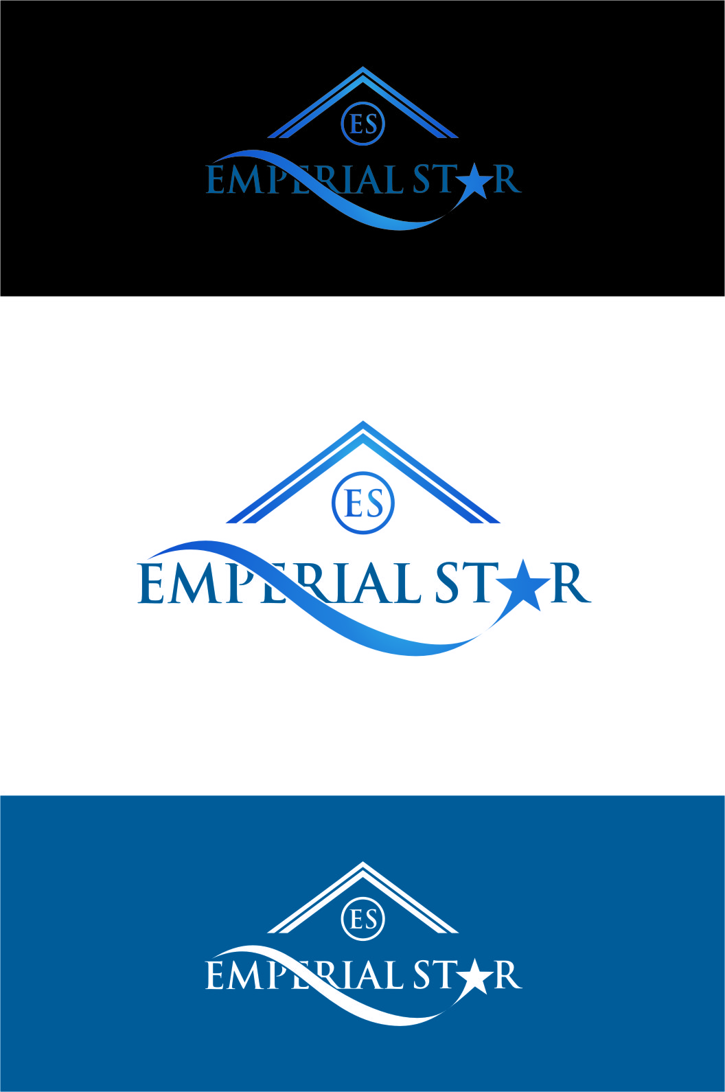Logo Design by Ngepet_art - Entry No. 126 in the Logo Design Contest Emperial Star Logo Design.