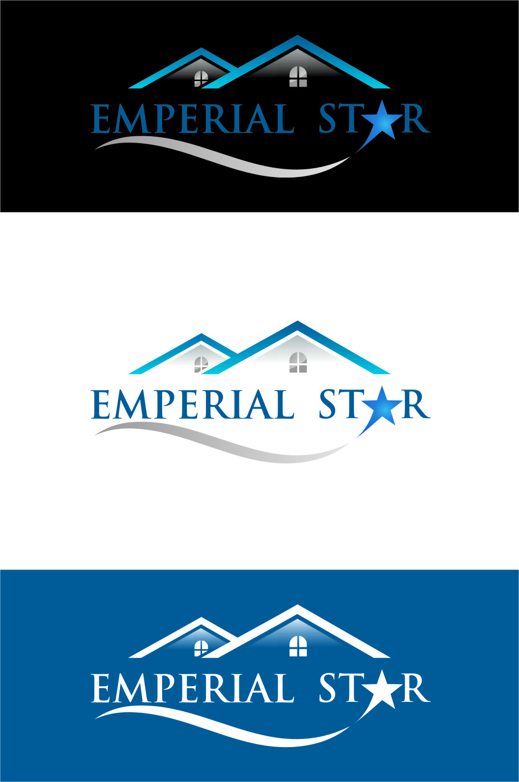 Logo Design by Ngepet_art - Entry No. 127 in the Logo Design Contest Emperial Star Logo Design.