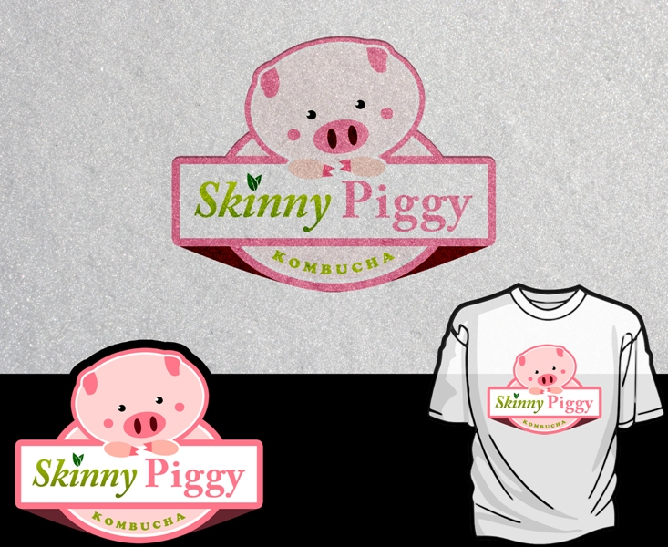 Logo Design by Juan_Kata - Entry No. 75 in the Logo Design Contest Fun Logo Design for Skinny Piggy.