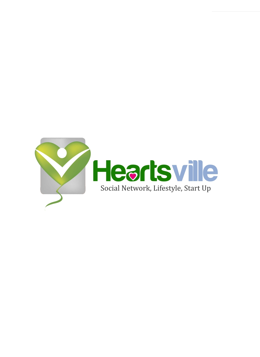 Logo Design by Private User - Entry No. 79 in the Logo Design Contest Unique Logo Design Wanted for Heartsville.