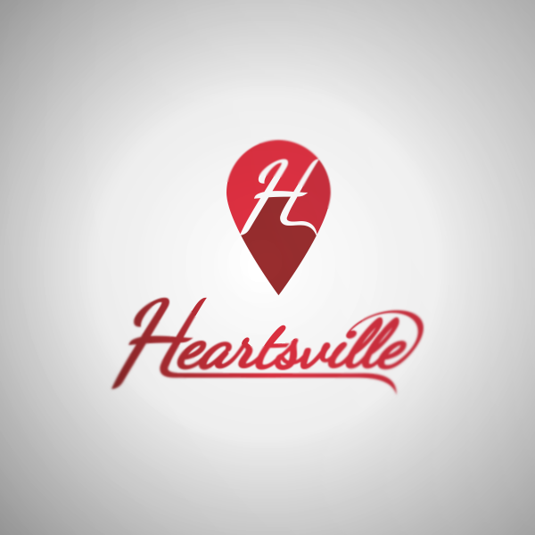 Logo Design by Private User - Entry No. 81 in the Logo Design Contest Unique Logo Design Wanted for Heartsville.