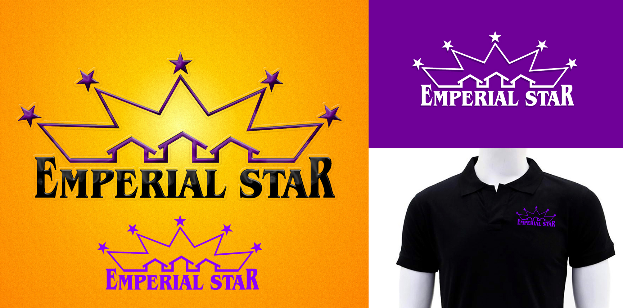 Logo Design by Private User - Entry No. 129 in the Logo Design Contest Emperial Star Logo Design.
