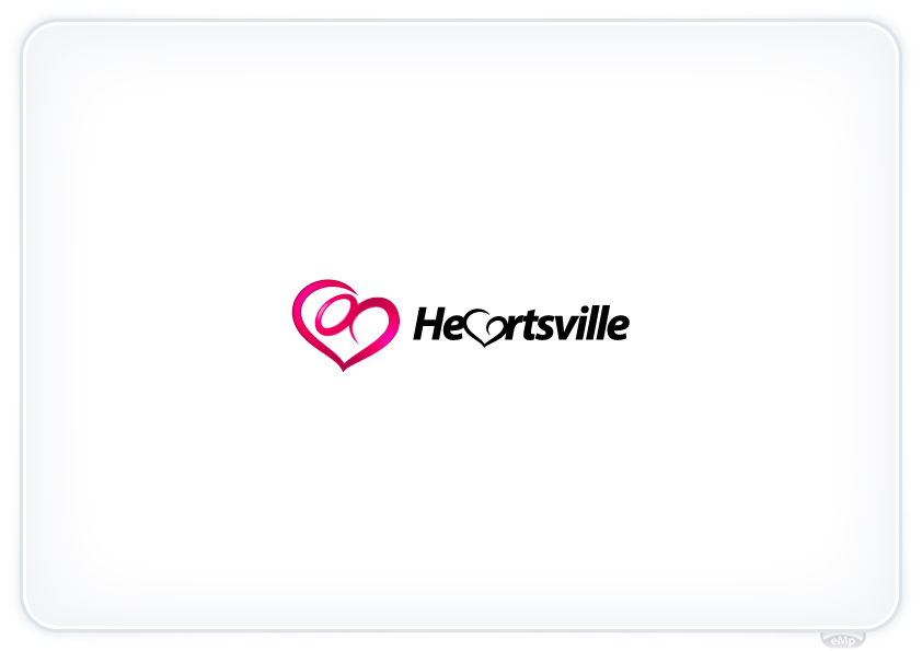 Logo Design by eMp - Entry No. 83 in the Logo Design Contest Unique Logo Design Wanted for Heartsville.