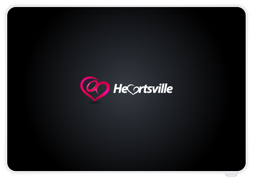 Logo Design by eMp - Entry No. 84 in the Logo Design Contest Unique Logo Design Wanted for Heartsville.