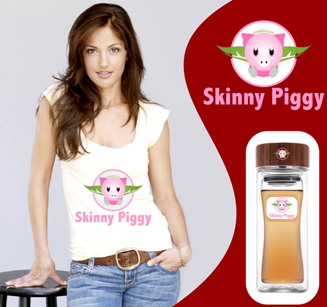 Logo Design by Crispin Jr Vasquez - Entry No. 80 in the Logo Design Contest Fun Logo Design for Skinny Piggy.