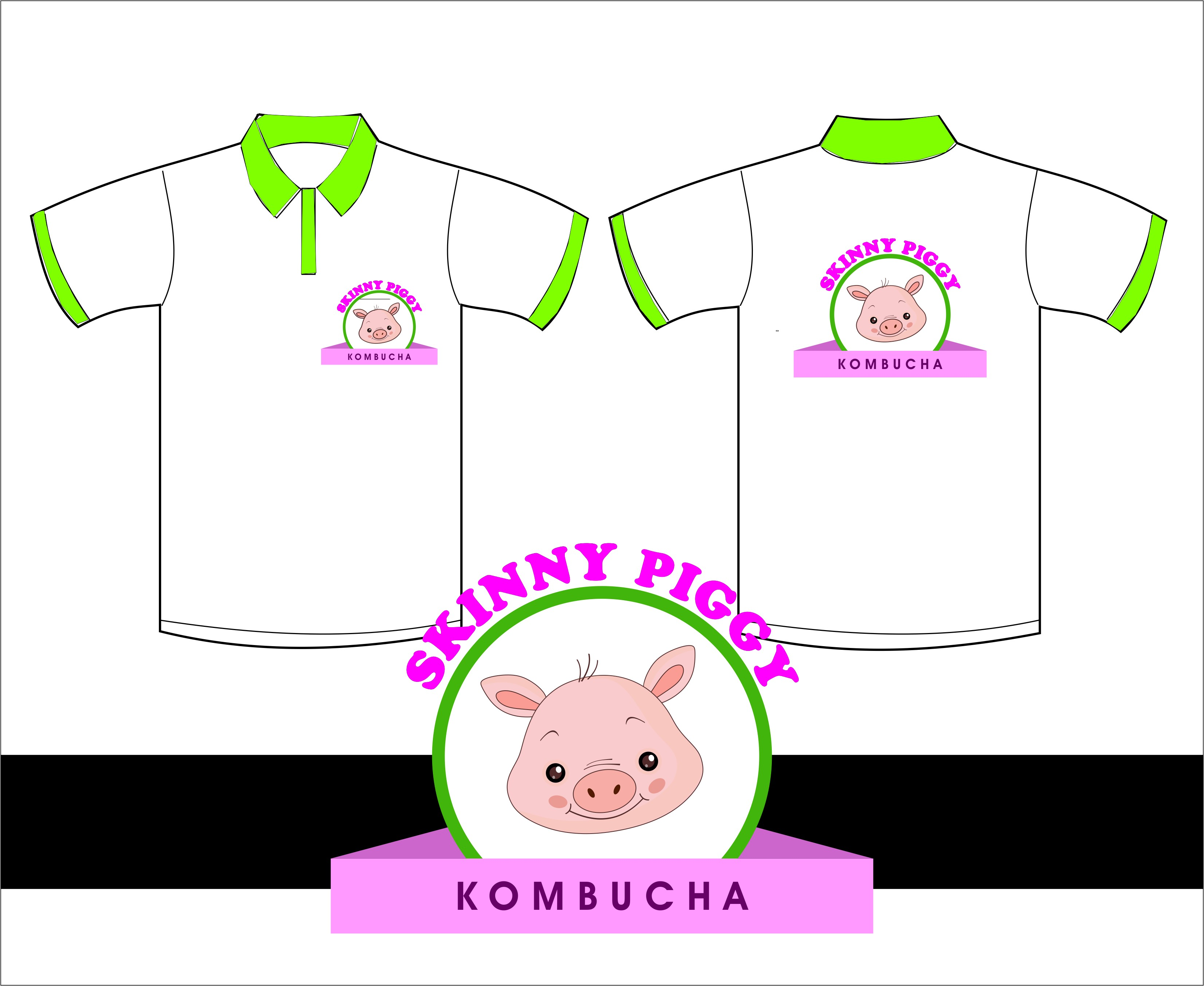 Logo Design by Mhon_Rose - Entry No. 81 in the Logo Design Contest Fun Logo Design for Skinny Piggy.