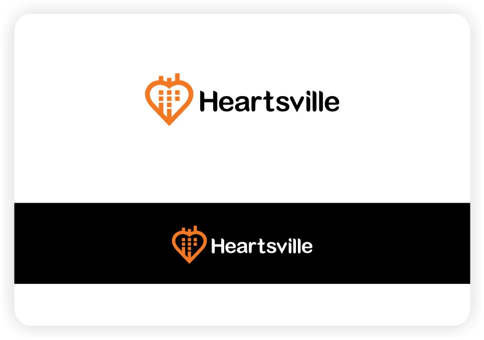Logo Design by untung - Entry No. 93 in the Logo Design Contest Unique Logo Design Wanted for Heartsville.