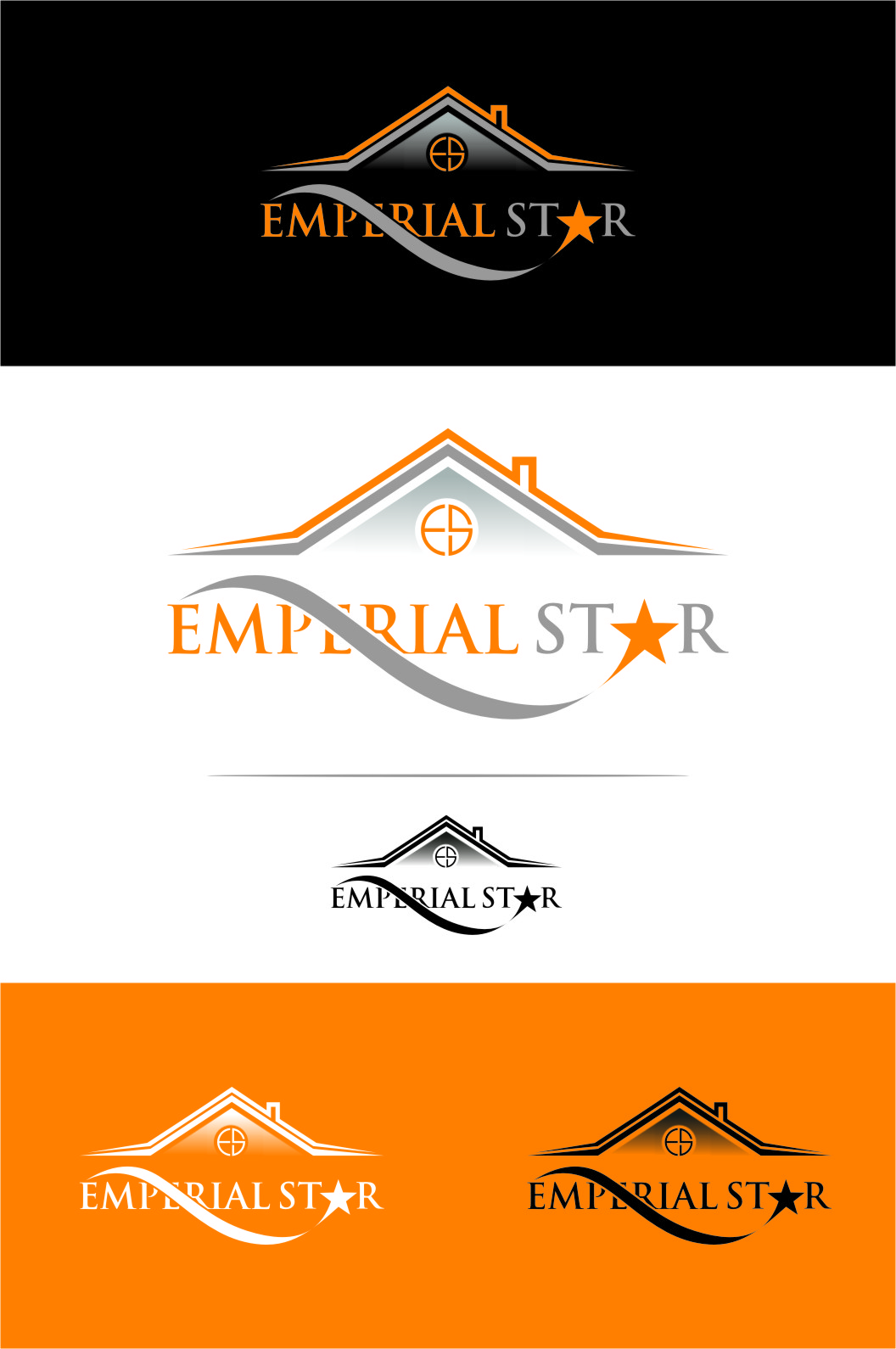 Logo Design by Ngepet_art - Entry No. 143 in the Logo Design Contest Emperial Star Logo Design.