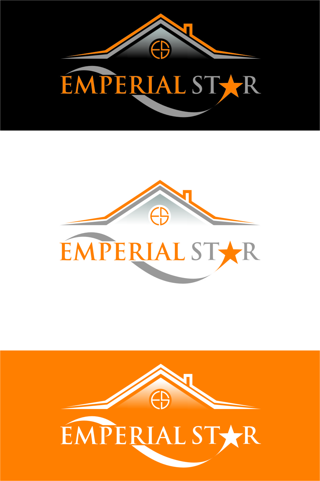 Logo Design by RoSyid Rono-Rene On Java - Entry No. 144 in the Logo Design Contest Emperial Star Logo Design.