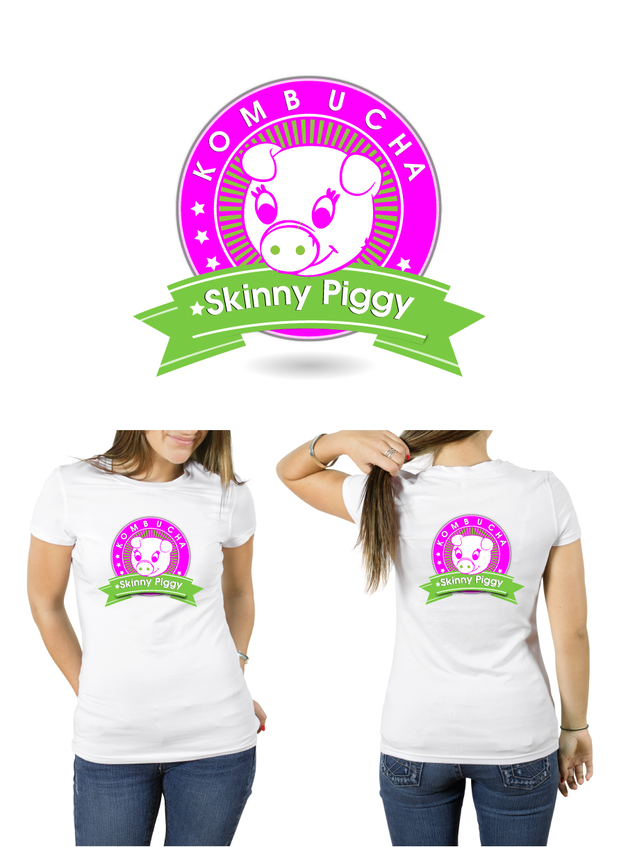 Logo Design by brands_in - Entry No. 94 in the Logo Design Contest Fun Logo Design for Skinny Piggy.