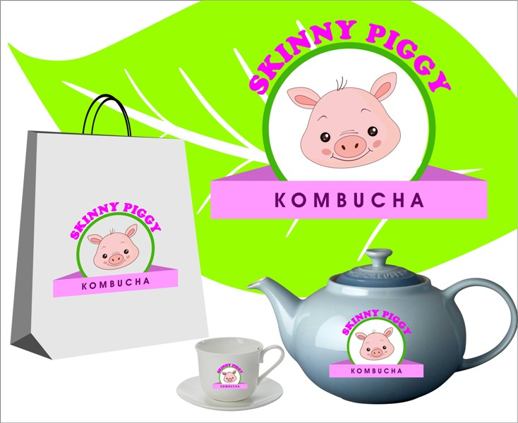 Logo Design by Mhon_Rose - Entry No. 96 in the Logo Design Contest Fun Logo Design for Skinny Piggy.