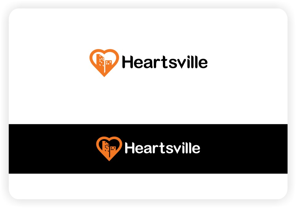 Logo Design by untung - Entry No. 94 in the Logo Design Contest Unique Logo Design Wanted for Heartsville.