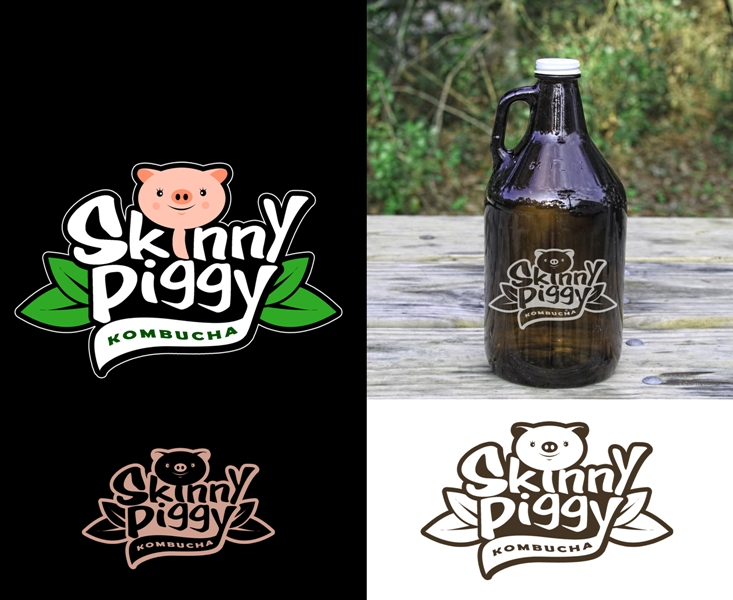 Logo Design by Juan_Kata - Entry No. 100 in the Logo Design Contest Fun Logo Design for Skinny Piggy.