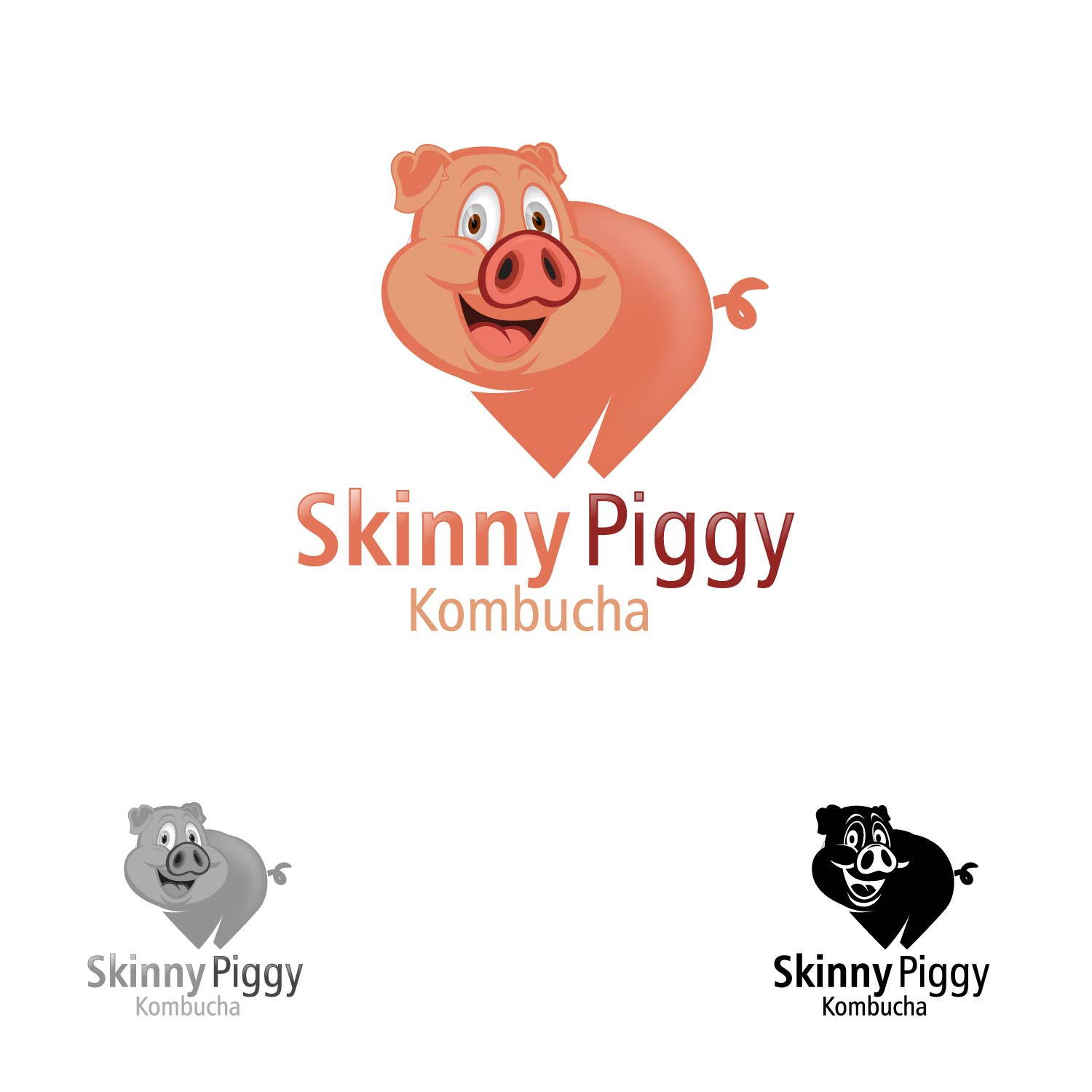Logo Design by lagalag - Entry No. 104 in the Logo Design Contest Fun Logo Design for Skinny Piggy.