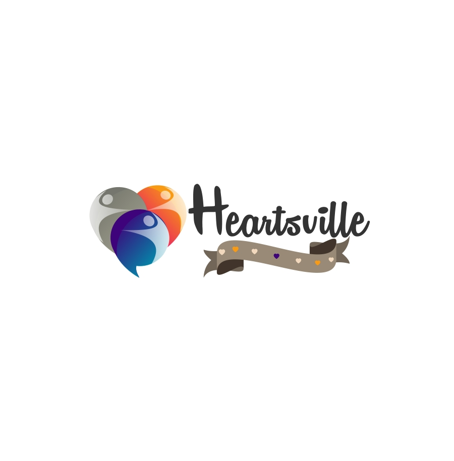 Logo Design by Private User - Entry No. 97 in the Logo Design Contest Unique Logo Design Wanted for Heartsville.