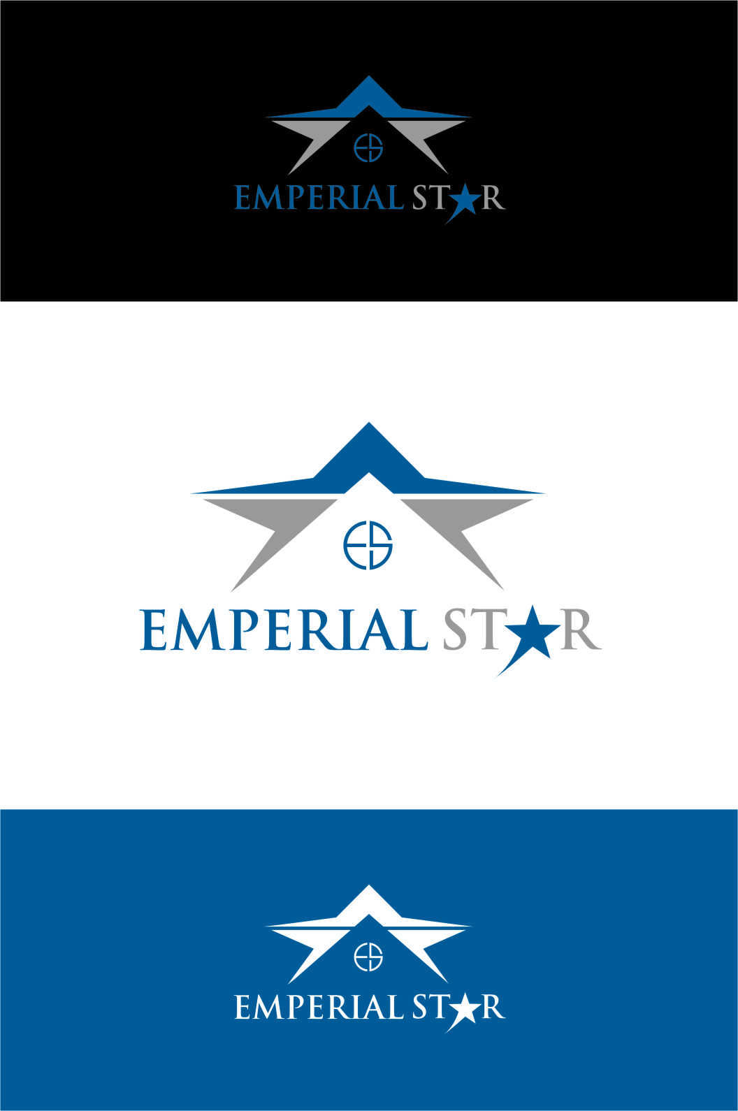 Logo Design by RasYa Muhammad Athaya - Entry No. 146 in the Logo Design Contest Emperial Star Logo Design.
