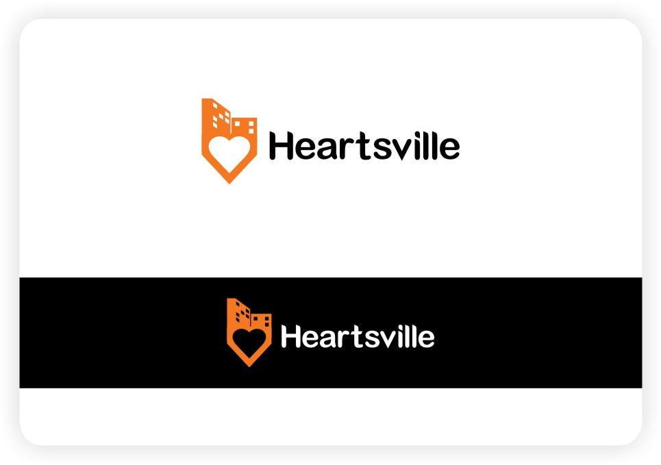 Logo Design by untung - Entry No. 99 in the Logo Design Contest Unique Logo Design Wanted for Heartsville.